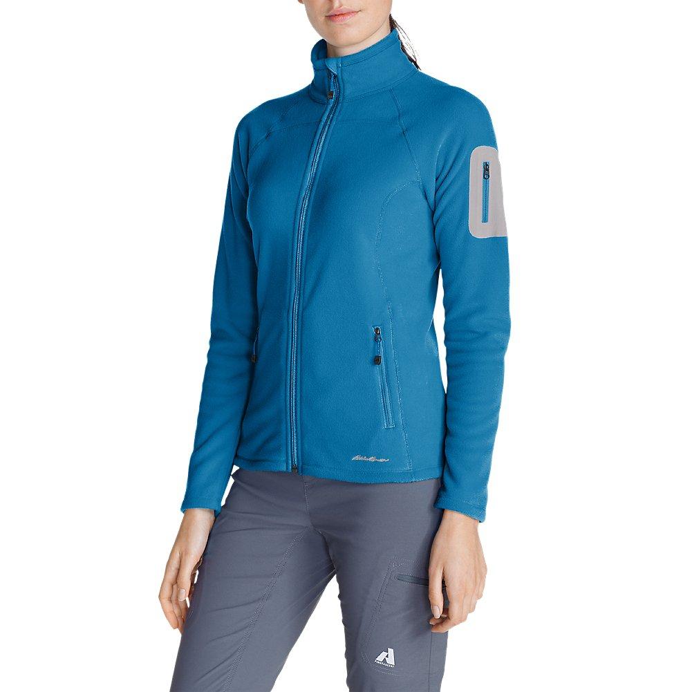 Eddie Bauer Women's Cloud Layer Pro Fleece Full-Zip Jacket, Wave Regular M