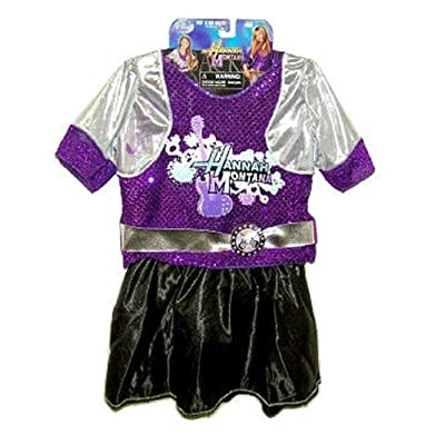 Disney Hannah Montana Pop Star Fantasy Play Costume (Size 4-6X): Toys & Games