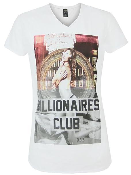 DEATH BY ZERO Hombre Diseñador Shirt Camisetas - BILLIONAIRES CLUB -XXL: Amazon.es: Ropa y accesorios