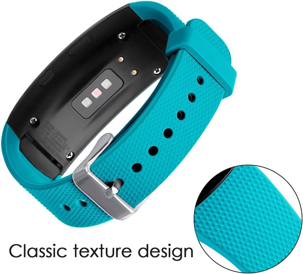 Malla Reloj Samsung Gear Fit2 Pro Sm-r365/fit2 Sm-r360 teal