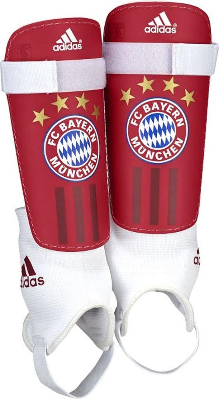 adidas Herren Schienbeinschoner FC Bayern Chrome