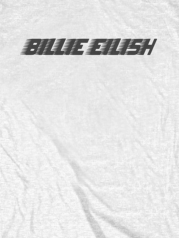 Billie Eilish T Shirt Schwarz Racer Logo Nue offiziell Unisex
