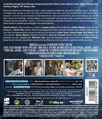 Scary Movie 5 [Blu-ray]: Amazon.es: Charlie Sheen, Simon Rex ...
