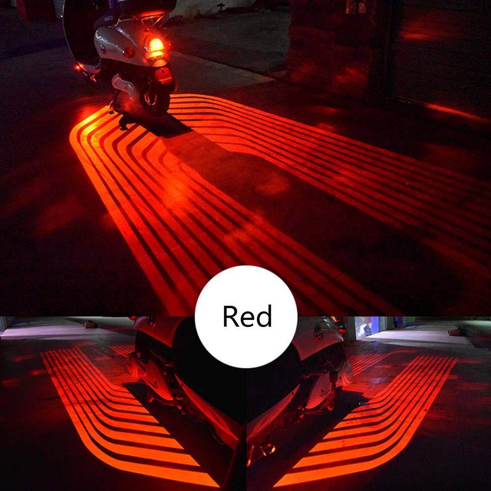 Febelle 2 Piezas de Luces LED de Bienvenida para Motocicleta ...