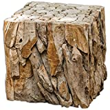 Uttermost 25592 Teak Root Bunching Cube