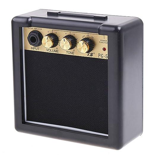19 opinioni per ammoon 5W Amplificatore Chitarra Elettrica Alta Sensibilità Con una Clip