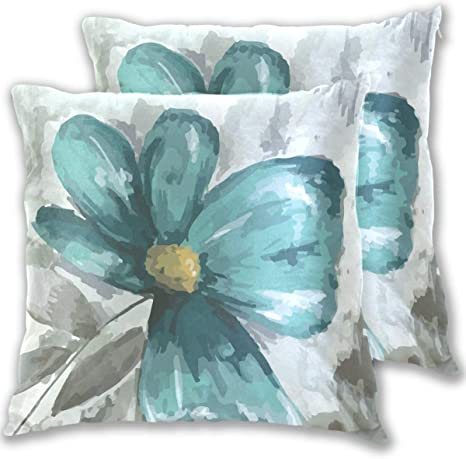 Throw Pillows Pillow Covers Vintage Green Floral Designer Pillow Cover