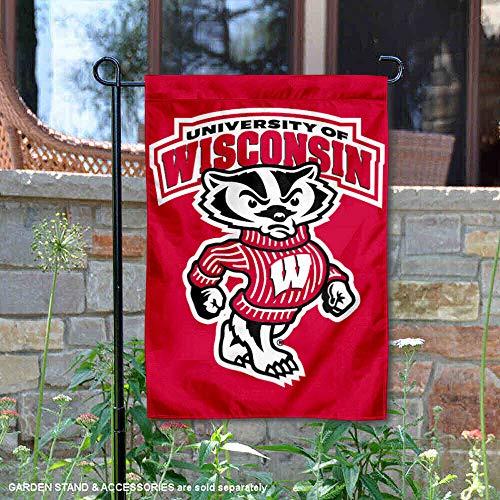 Wisconsin Badgers UW Garden Flag and Yard -