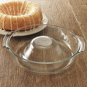 Amazon.com: Libbey Ring Pan Glass Baking Dish: Bundt Pans