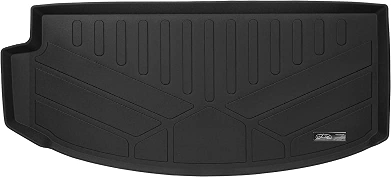 SMARTLINER All Weather Cargo Liner Floor Mat Behind 2nd Row Seat Black for 2008-2017 Traverse//Enclave