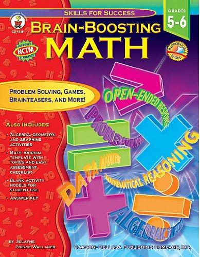 Brain-Boosting Math, Grades 5-6 (Skills for Success Series) Jillayne Prince Wallaker