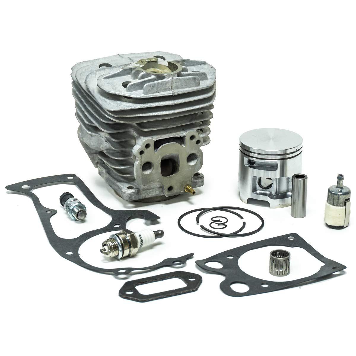51MM Nikasil Cylinder Piston Gasket Kit for Husqvarna 575 575XP 570 Chainsaws