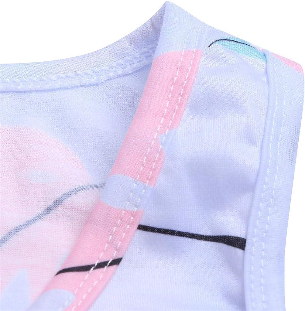 Zegeey Damen Sommerkleider Beil/äUfige Lose Kleid Kurzarm V-Ausschnitt Kurzarm Kleider T/äGliche Vintage FarbblockKleider Panel Strandkleider Knielang