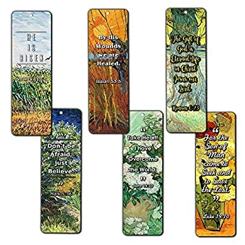 Bible Bookmarks Cards - Jesus has Risen (30 Pack) - John 3:16 Bookmarks for Christian Living Faith - Great Gifts for Easter Day, Thanksgiving, Christmas Or Encouraging People NewEights