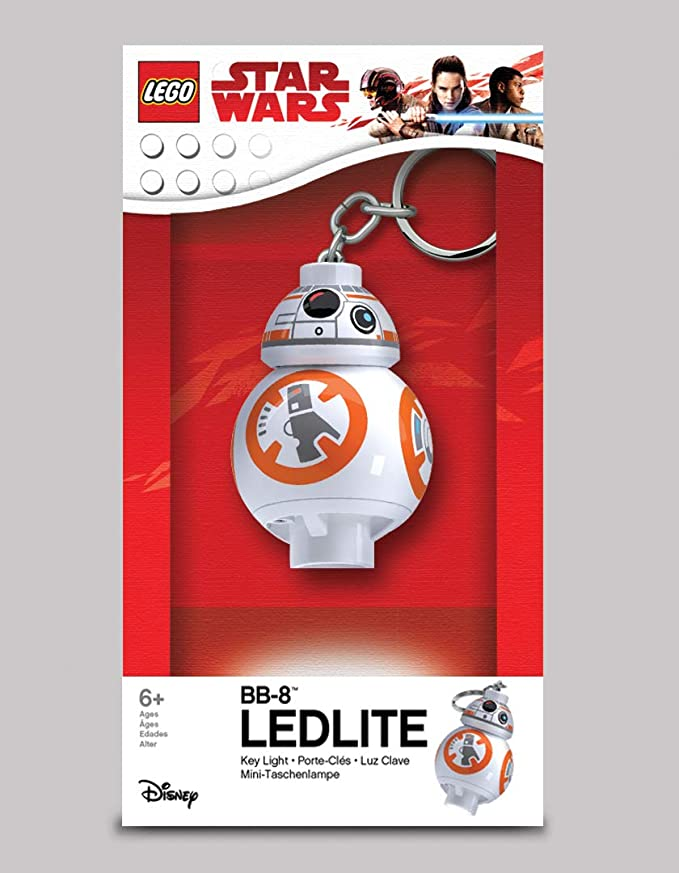 LEGO Star Wars: The Last Jedi - BB-8 LED Key Chain Flashlight