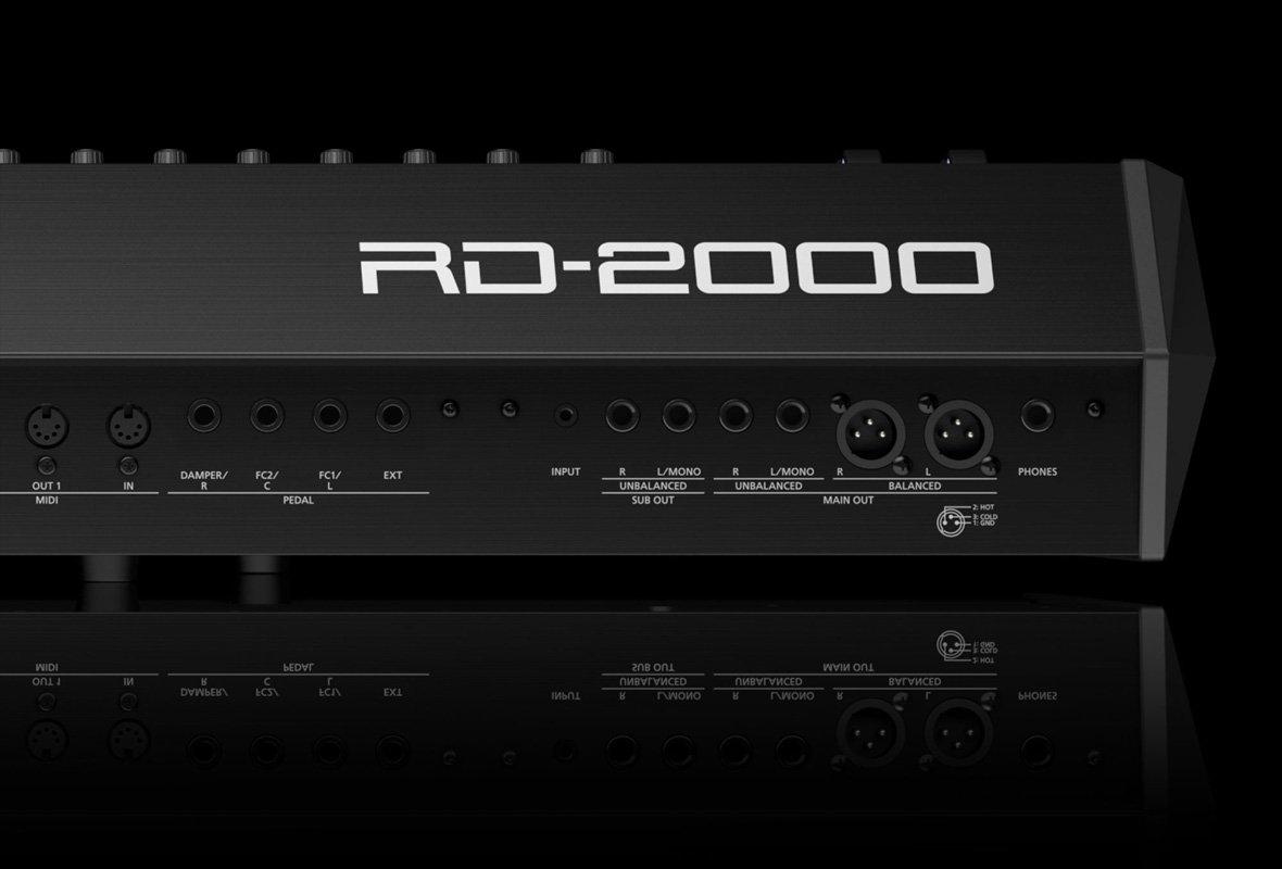 RD-2000:リアパネル