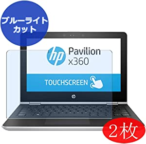 "【2 Pack】 Synvy Anti Blue Light Screen Protector for HP Pavilion x360 14m-ba100 / ba114dx 14"" Screen Film Protective Protectors [Not Tempered Glass]"