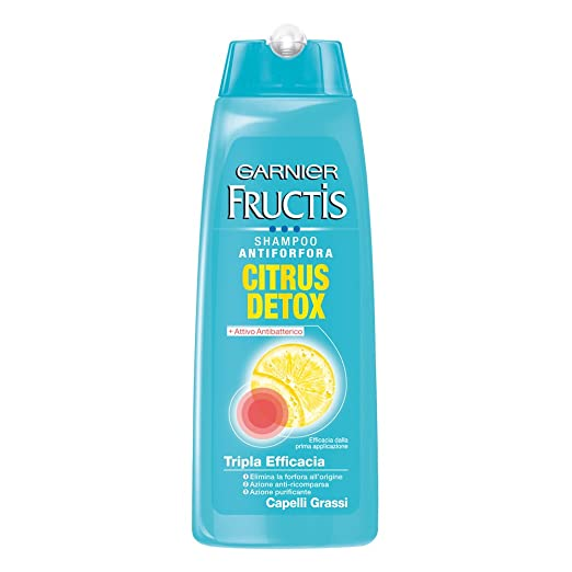 11 opinioni per Garnier Fructis Citrus Detox Shampoo