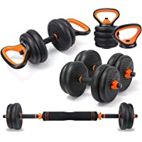 echolass 4 in 1 Adjustable Dumbbell Set