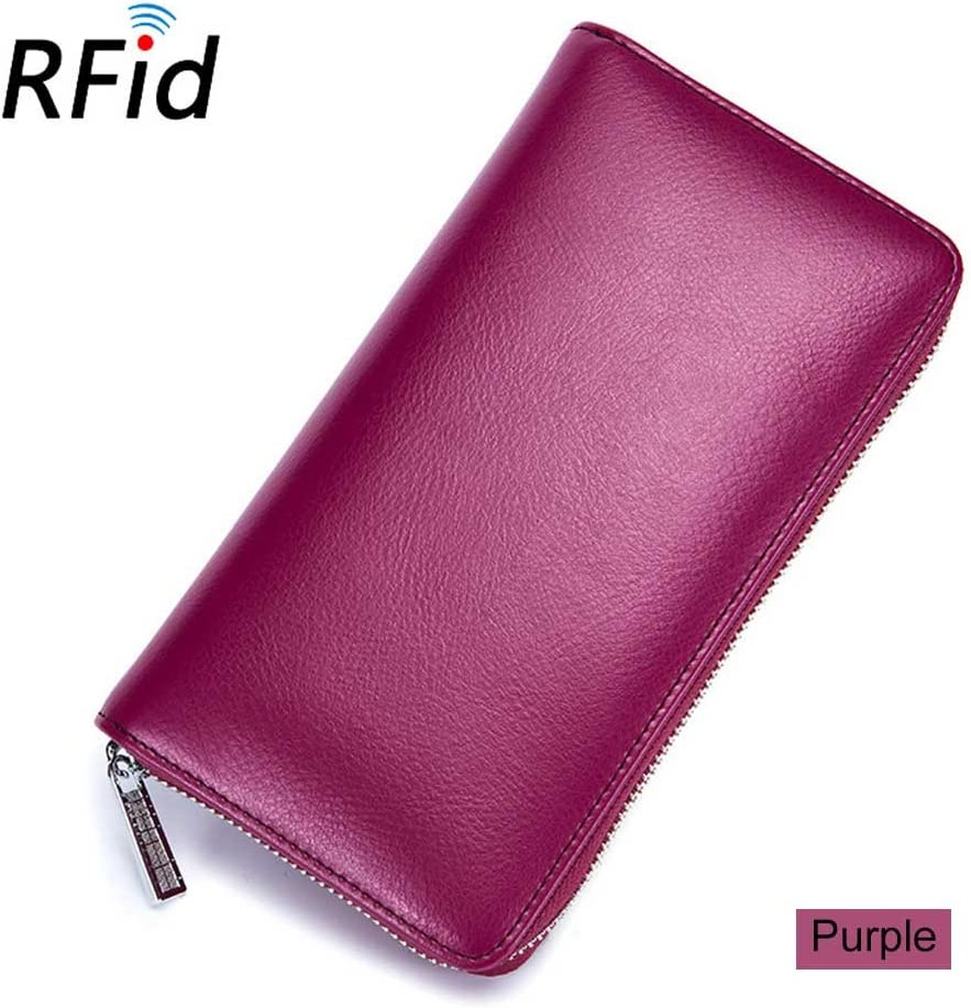 Gimax Card /& ID Holders Women 36 Card Holder Credit RFID Card Case Wallet Auto Car Document Passport Cover Purse Best Sale-WT Color: Black