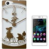 459 - Vintage Clock Alice in Wonderland Design Wiko Ridge 4G Fashion Trend Protecteur Coque Gel Rubber Silicone protection Case Coque