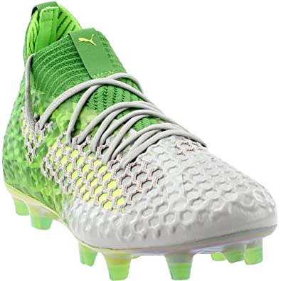 9d6686cea93 PUMA Mens Future 18.1 Netfit On Off Firm Ground Artifical Grass Cleats  Athletic