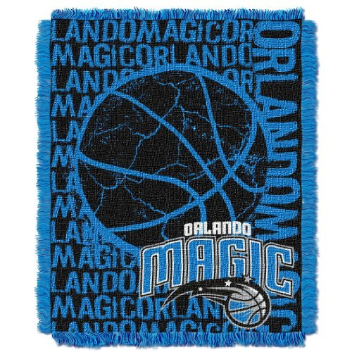 Northwest 019 NBA Orlando Magic 48 x 60-Inch Double Play Jacquard Triple Woven Throw
