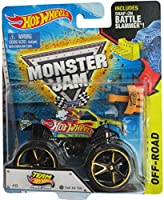 Hot Wheels Off Road #13 Team Hot Wheels Firestorm with Track Ace Tires, Includes Snap-On Battle Slammer