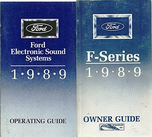 1989 Ford F-Series Owner Guide