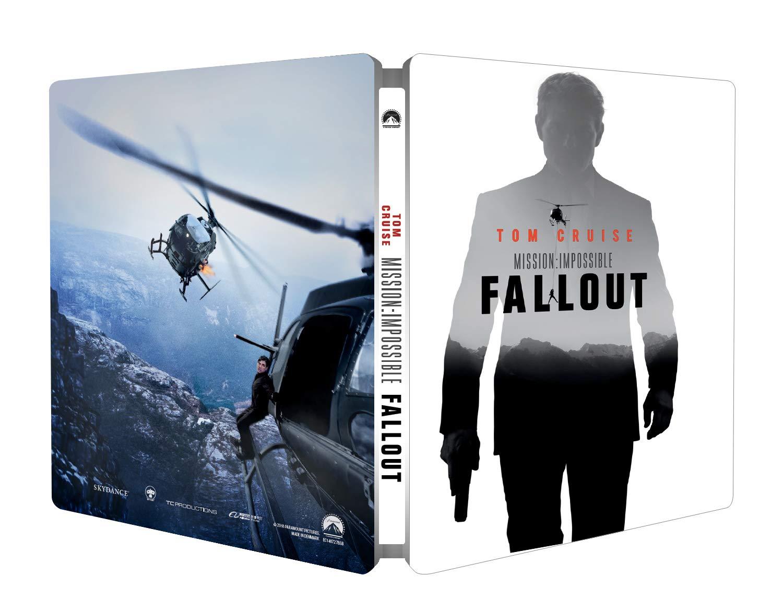 Mission Impossible - Fallout Ltd Steelbook Italia Blu-ray: Amazon ...
