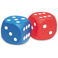 Soft Foam Dot Dice, Set Of 2