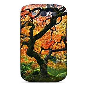AMGGcdY6796uyvLL Autumn In Japan Awesome High Quality Galaxy S3 Case Skin