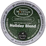 Green Mountain Coffee Holiday Blend Keurig 2.0 K-Cup Pack, 18 Count