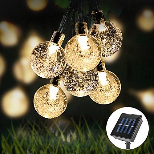 Led Weihnachtsbeleuchtung Balkon.Reviewmeta Com Solar Lichterkette Furado Wasserdicht 30er Led Kugel