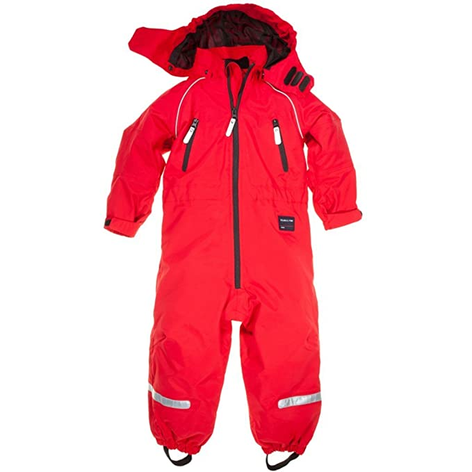 32c93cfd0 POLARN O. PYRET FLEECE LINED SHELL OVERALL (CHILD) - 6-7 years Poppy ...