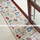 """4 sizes 6 designs Floor Doormat Office Carpet Kitchen Rug made with Knitted Fiber (18""""x 92"""", Kitchen Tool)"""