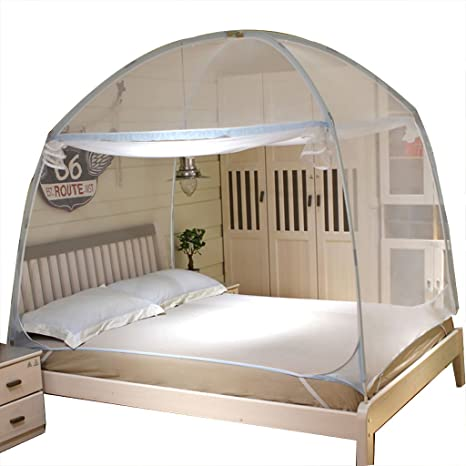 Zanzariere Yurta Criptazione Princess Bed Canopy Tre porte ...
