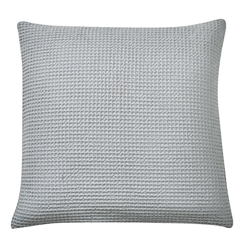 PHF Waffle Euro Sham Cover and Cushion Cover 100% Cotton 2 pieces 26