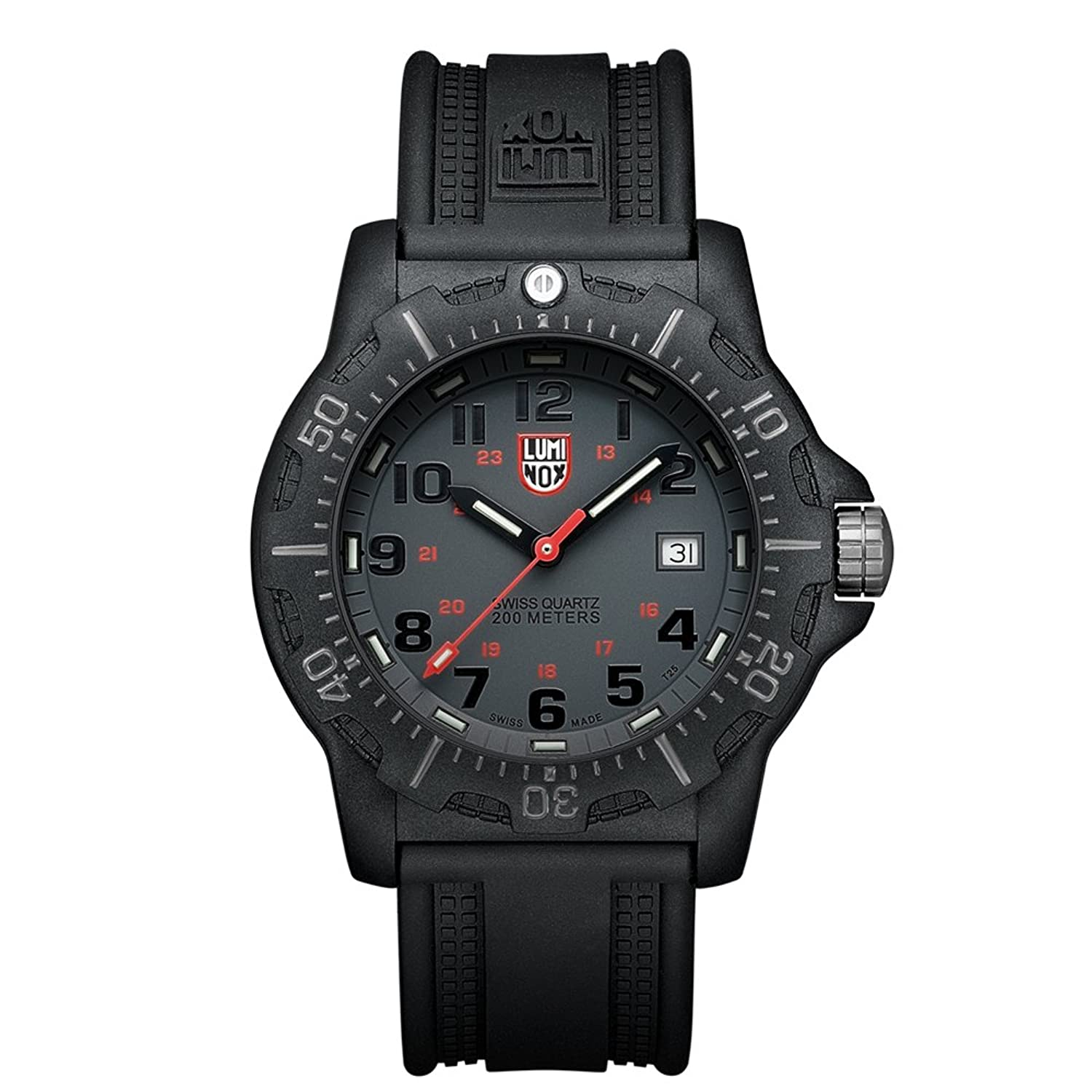Luminox Black OPS PC Carbon Herren-Armbanduhr Analog Quarz Kautschuk - LU8802