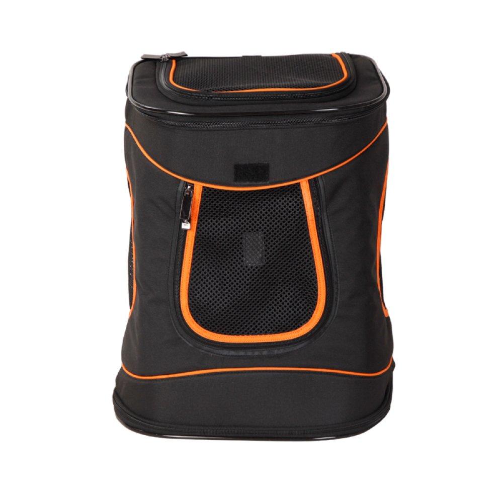 Black AYCC Backpack Backpack, Out Backpack, Dog Backpack, Cat Backpack, Breathable, Waterproof, Pet Supplies,Black