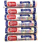 Necco Wafers Original Assorted Candy Rolls (Set of 6)
