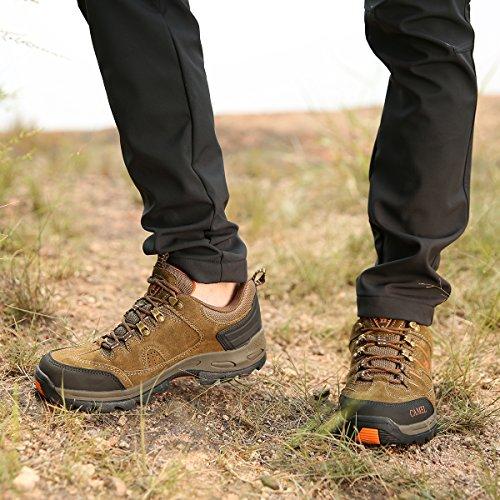 de Calzado de de Camel Escalada para Alpinismo para Hombres Ante Zapatillas Zapatos Senderismo Caqui H8zqg8