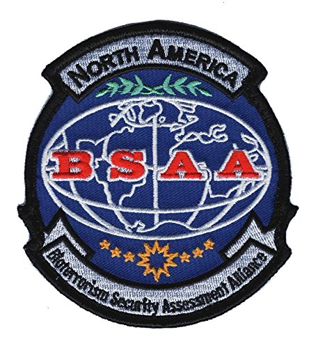 Bsaa Costume (BSAA North America Resident Evil Costume Cosplay Shoulder Patch iRON-ON)