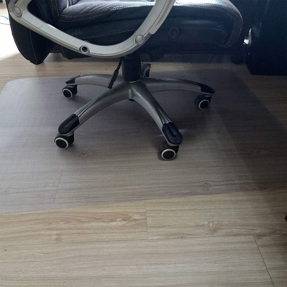 Transparent 40/×60cm Dicstorets Tapis de Protection de Sol rectangulaire Transparent antid/érapant pour Chaise roulante