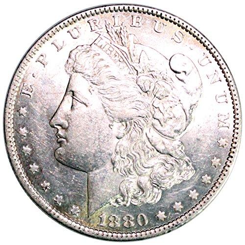 1880 O Morgan Silver Dollar $1 BU (1880 O Morgan Silver Dollar Coins)