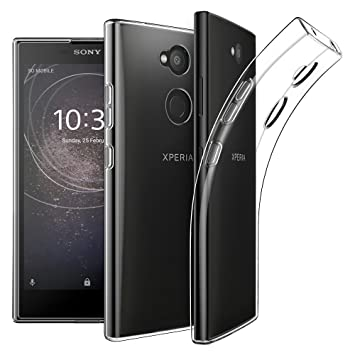 detailed pictures 52c16 ad4f4 KP TECHNOLOGY Sony Xperia XA2 / Xperia XA2 2018 Clear Case Thin Transparent  Silicone Gel Case Cover (Sony Xperia XA2, Clear)
