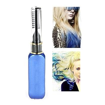 Rimel mascarilla pelo profesional tinte temporal color del pelo tiras no tóxicas retoque lila by Molie: Amazon.es: Belleza