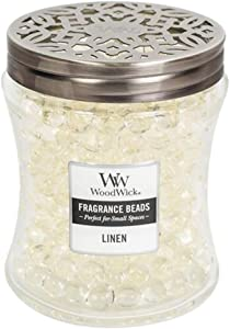 LINEN WoodWick Fragrance Beads Room DiffuserLINEN WoodWick Fragrance Beads Room Diffuser
