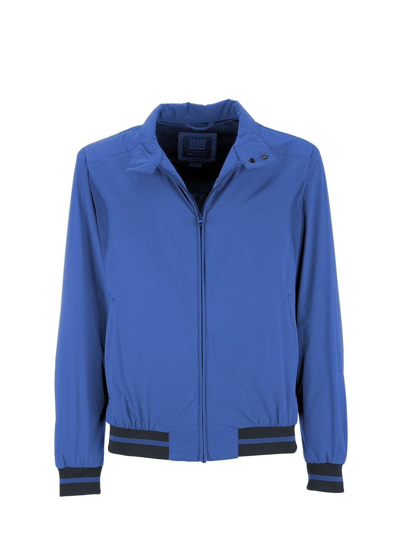 Geox M7223E T2334 Jacke Man Blau 54