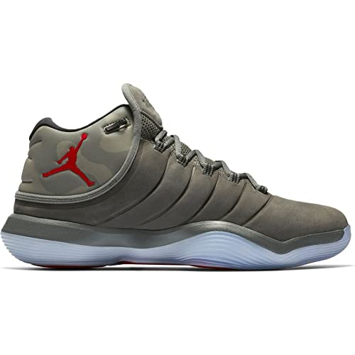 the best attitude dc26b 3b0ae Jordan Shoes – Super.Fly 2017 Grey Green red Size  45